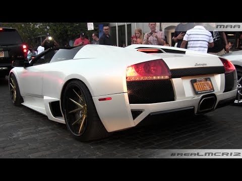 Lamborghini Murcielago on Rennen Wheels -