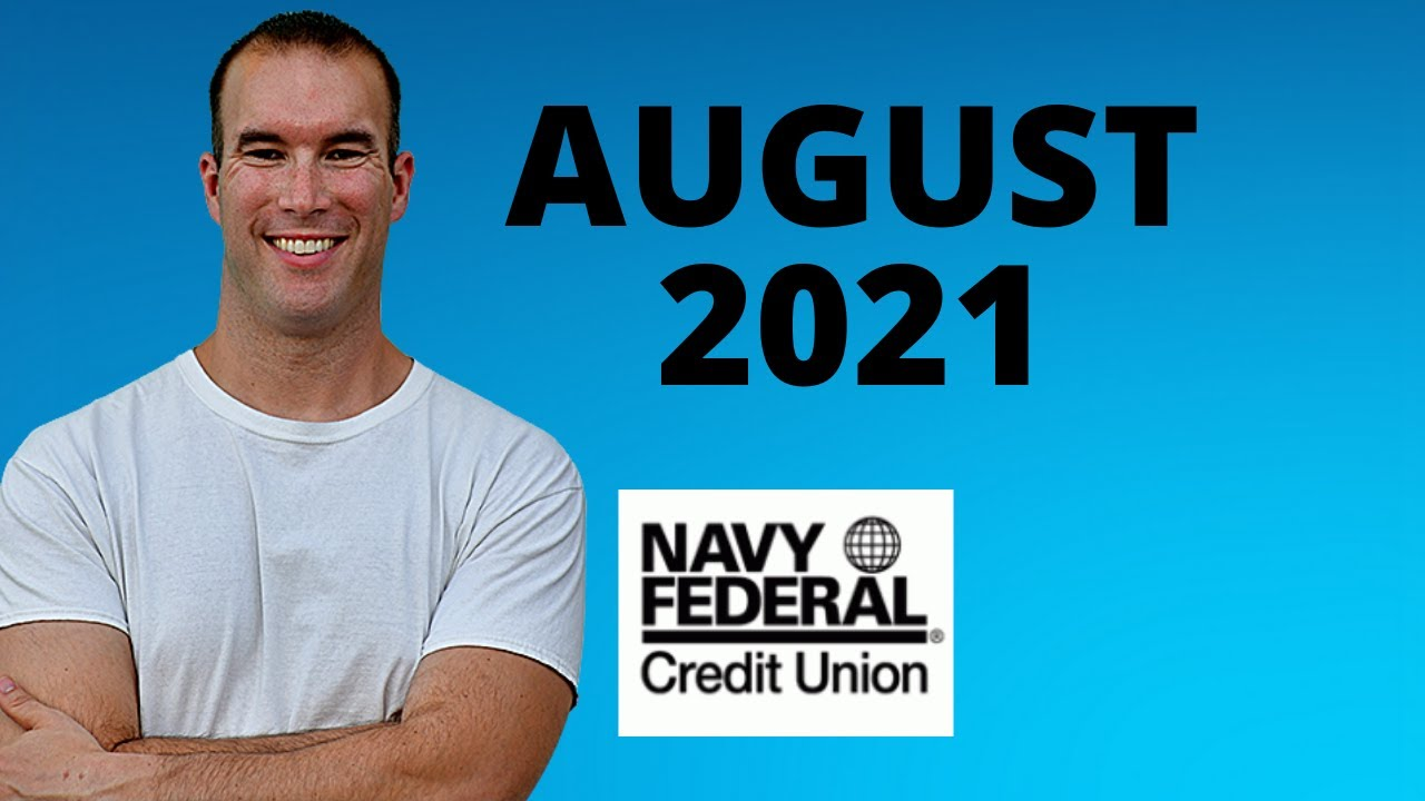 Finest Navy Federal Credit Cards August 2021 thumbnail