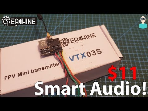 Eachine VTX03S - Smart Audio Mini $11 VTX