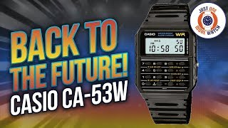 $20 Movie Star! The Casio CA53W from Back To The Future