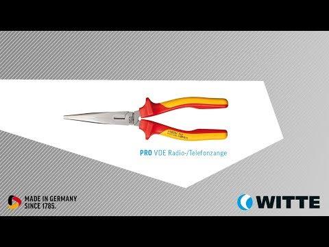 WITTE Tools PRO VDE Radio Telefonzange