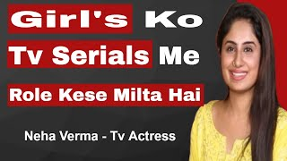 How To Become an Actor in Serials | Neha Verma Interview | #FilmyFunday | Joinfilms