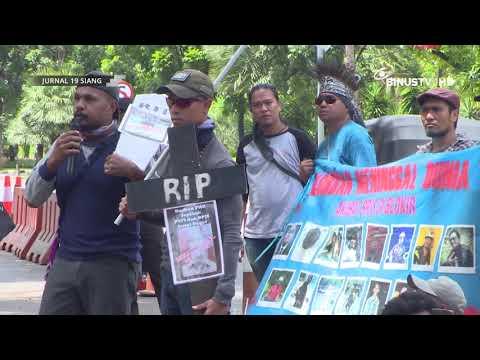 [Liputan] BPJS Diblokir, Pekerja PT Freeport Indonesia Menggelar Demo