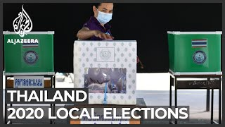 Thais vote in first local elections since 2014 coup