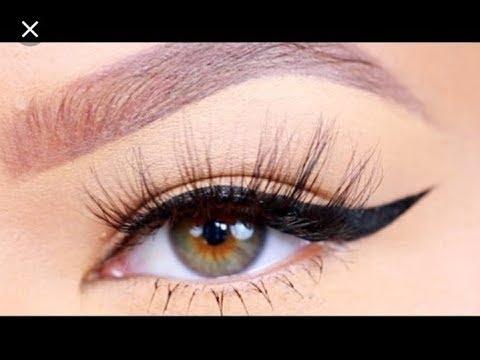 How to:Perfect Winged Eyeliner / Simple Liquid eyeliner