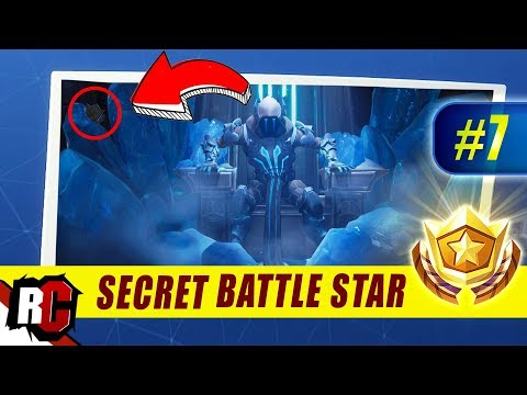 Fortnite Week 7 Secret Battle Star Location Season 7 Week 7