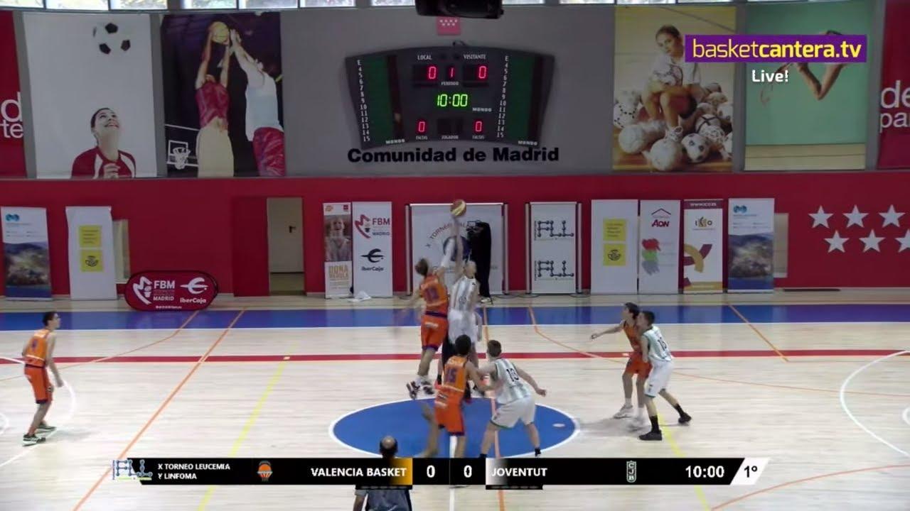 Directo - U15M - VALENCIA BASKET vs JOVENTUT BADALONA - Torneo FLL 2019 (BasketCantera.TV)