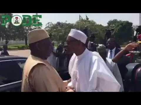 The Gambia Mediation: Mahama, Sirleaf, Macky in Abuja