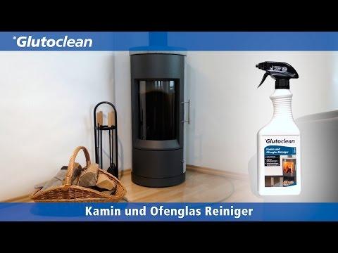 Glutoclean - Kaminreiniger und Ofenglas Reiniger
