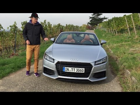 Sightseeing Tour um den neuen Audi TT Roadster