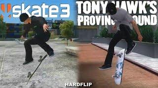 Skate 3 VS Tony Hawk's Proving Ground