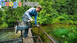 Using Google Maps to find NEW CREEKS!