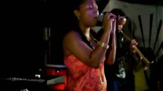 Abby Dobson Performs With Trumpet Player in Brooklyn