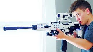 Nerf Guns: Crazy Nerf Gun Mods