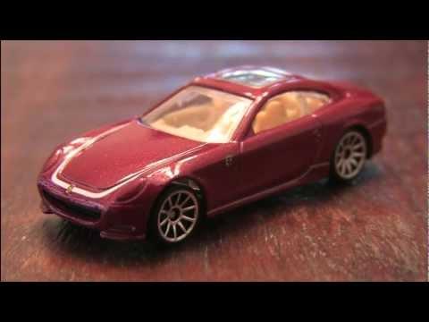 FERRARI 612 SCAGLIETTI Hot Wheels review by CGR Garage