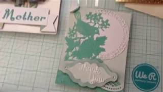 Thank you and Birthday Cards using Cricut Explore Air 2, Print and cut, & assorted dies