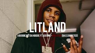 A BOOGIE WIT DA HOODIE FT. 6IX9INE   SWERVIN [BASS BOOSTED]