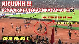 Video PSYWAR!!! SUPPORTER INDONESIA KE ULTRAS MALAYA 🇲🇾 | FULL KERUSUHAN DI GBK JAKARTA MP3, 3GP, MP4, WEBM, AVI, FLV September 2019