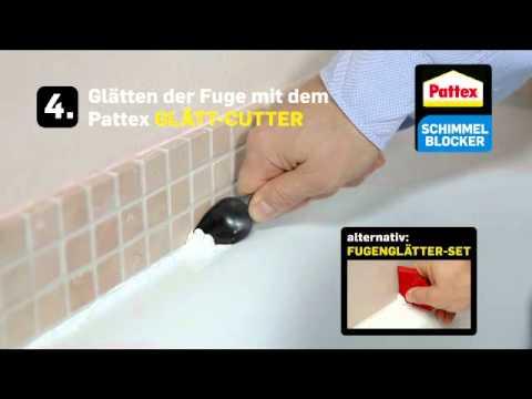 Pattex Schimmelblocker Silikon.mpg