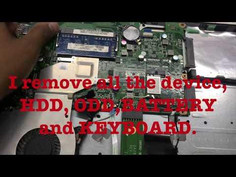 Acer Aspire 4925 laptop take apart/disassemble - смотреть