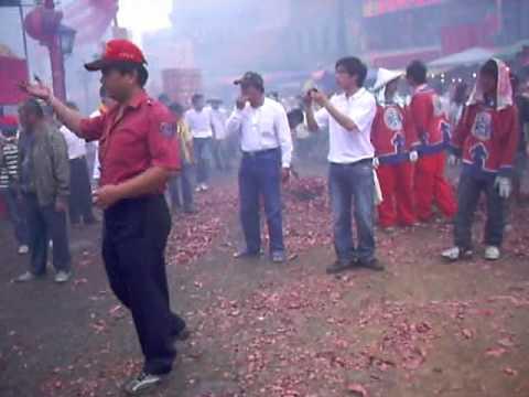 2007年 莊儀團 六媽 五媽 出廟 農曆三月十九 北港迎媽祖 - 北港迎媽祖