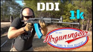 DDI Hammer Forged AK47 The First 1000 Rounds HD
