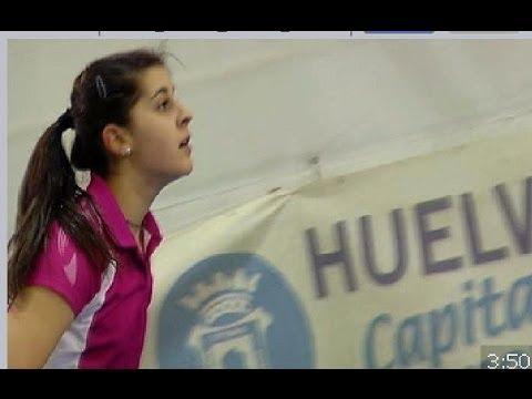 Carolina Marín adolescente, futura medalla de oro en las Olimpiadas de Río 2016
