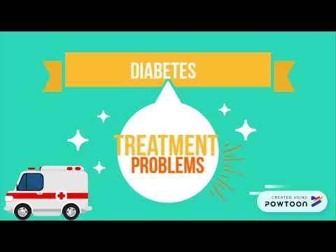 Diabetes, Amputation von Beinen