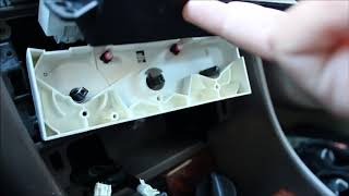 Help me out 1999 toyota camry cabin air filter location 2000 camry ac climate light bulb replace fandeluxe Choice Image