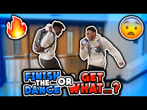 Finish The Dance Or Get Punished | Highschool Edition | Public Interview