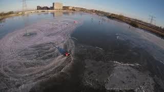 Cinematic FPV Drone - Ice Skating