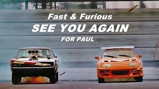 "Fast & Furious   Wiz Khalifa   ""See You Again"" Ft. Charlie Puth (with Lyrics) [HD]"