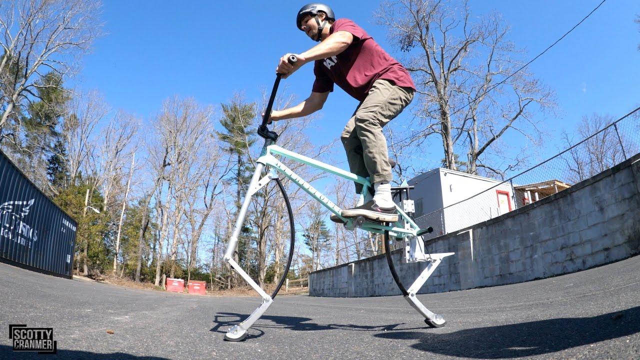 Come costruire una Pogo Bike