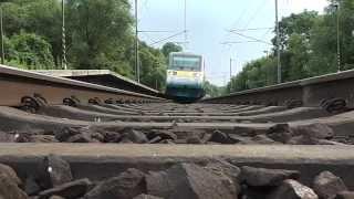 Vlaky nad kamerou/The camera under the train