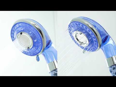 Vòi tắm hoa sen alkaline Bellavie Water – Công nghệ Mỹ