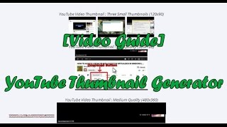 EASIEST WAY TO GET YOUTUBE VIDEO THUMBNAILS