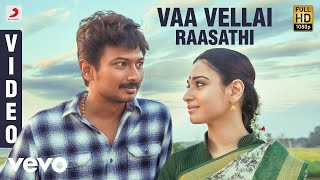 Kanne Kalaimaane - Vaa Vellai Raasathi Video (Tamil) | Udhayanidhi Stalin, Tamannaah