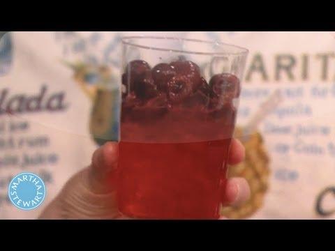 Video Cherry Vodka Mojitos- Martha Stewart