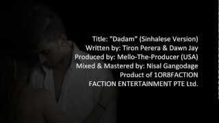 Dawn Jay - Dadam (Hada Gahena Ridmaya) : Lyrics Video