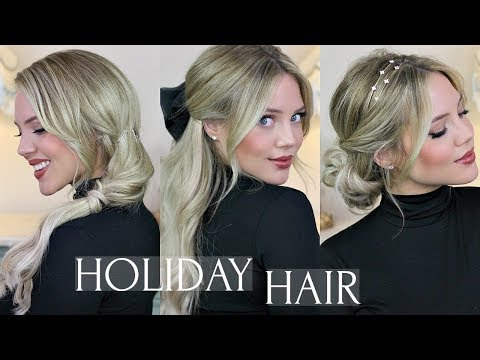 HOLIDAY PARTY HAIRSTYLES | Ad | Elanna Pecherle