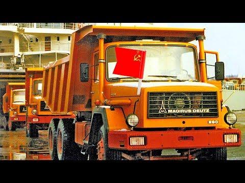 Иномарки в СССР: автомобили из-за «железного занавеса» [АВТО СССР]