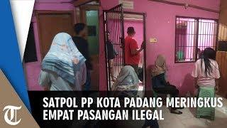 Anggota Satpol PP di Padang Ringkus Empat Pasangan Ilegal