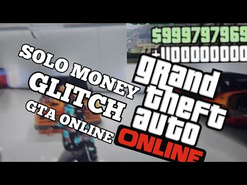 SOLO MONEY GLITCH GTA ONLINE DINHEIRO INFINITO EM SEGUNDOS