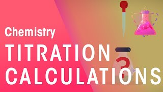 How To Do Titration Calculations | Chemical Calculations | Chemistry | FuseSchool