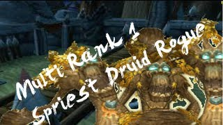 Multi rank 1 Shadow Priest Rogue Druid vs 2400  Shadow Cleave (Arena Pass)