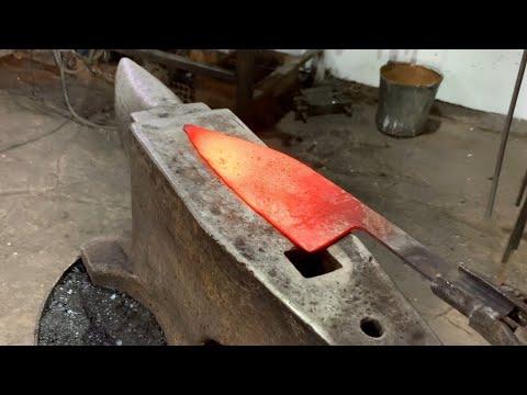 , title : '(Внимание!!! Конкурс для подписчиков). Изготовление Сербского шеф ножа. Товарищество Завьялова.'