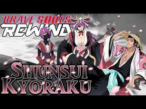 Bleach Brave Souls Rewind: Shunsui (Tag Team)