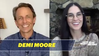 Demi Moore Defends Her Carpeted Bathroom