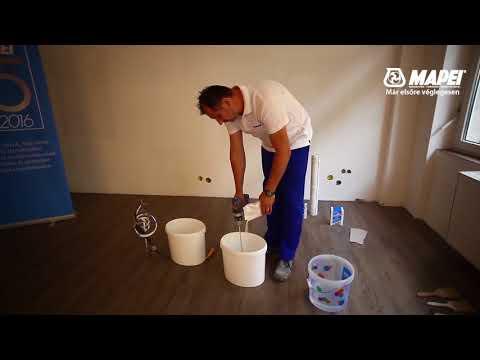 Hogyan ragasszunk nehéz vinil és mosható tapétákat Glicovil Special és Marker ragasztókkal?