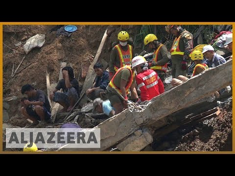 🇵🇭 Philippines rescuers dig for Mangkhut survivors with bare hands | Al Jazeera English